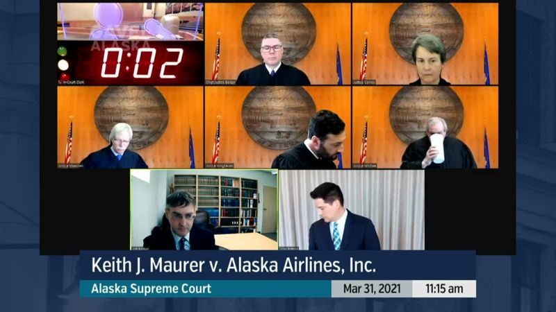 Keith J. Maurer v. Alaska Airlines, Inc. - preview image