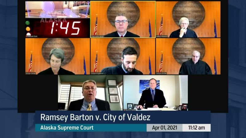 Ramsey Barton v. City of Valdez - preview image