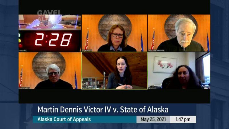 Alaska Court of Appeals: Martin Dennis Victor IV v. State of Alaska - preview image