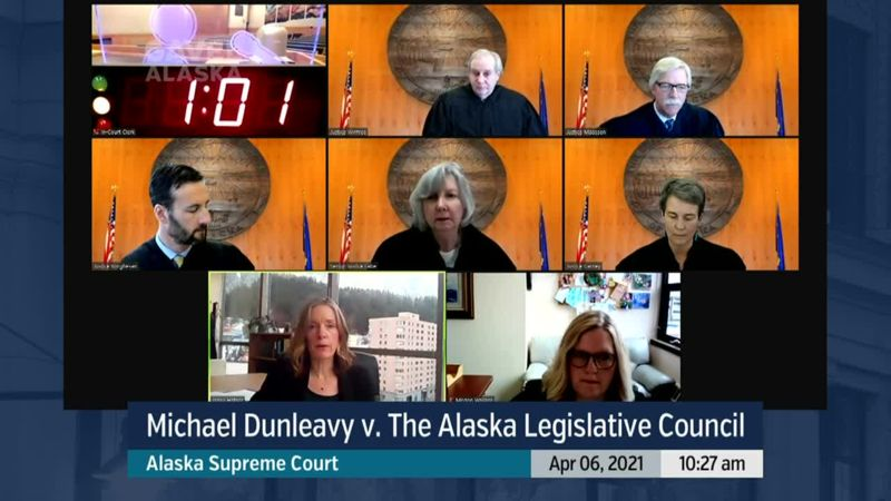 Michael Dunleavy v. The Alaska Legislative Council - preview image