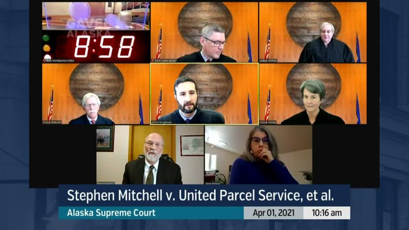 Stephen Mitchell v. United Parcel Service, et al. - preview image