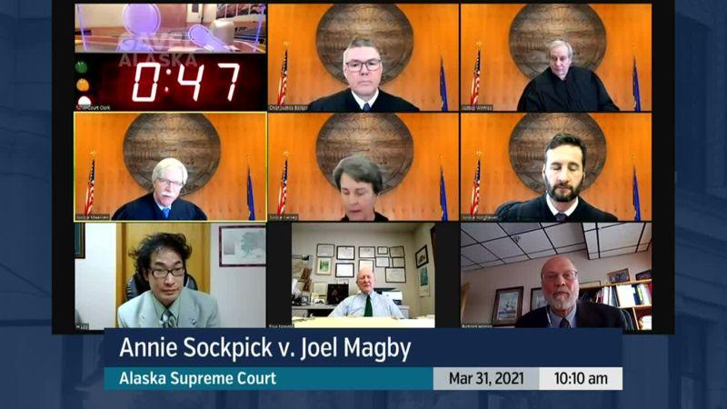 Annie Sockpick v. Joel Magby - preview image