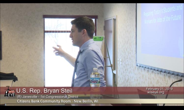 Congressman Bryan Steil Listening Session - WisconsinEye