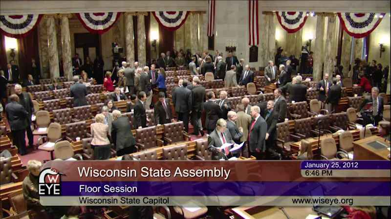 Governor Scott Walker's 2012 State of the State Address