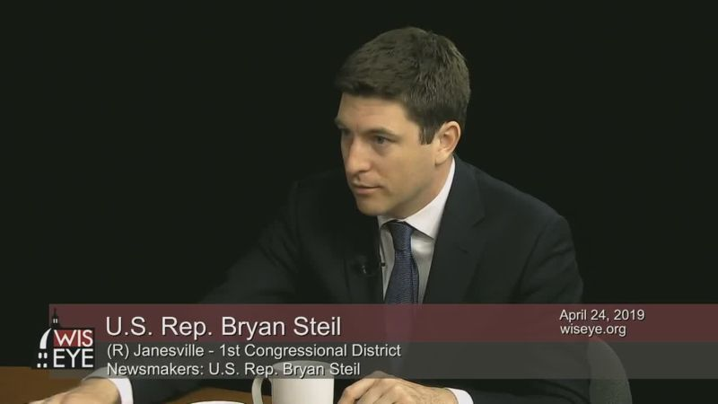 Newsmakers: U S  Rep  Bryan Steil (R) - WisconsinEye
